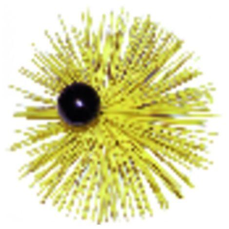 Round roller brush rilsan with ball ø 300mm