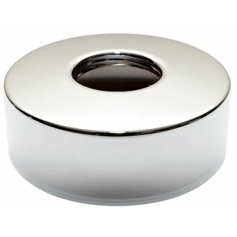 """Round Shaped Chrome Plated Steel 3/4"""" Inch Pipe Collar Oval Cover 24mm Height"""