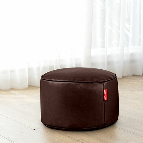 Round Sofa Cover Footstool Poufs Bags Sofa Chaise Longue Match Stool Only Cover 20x50CM