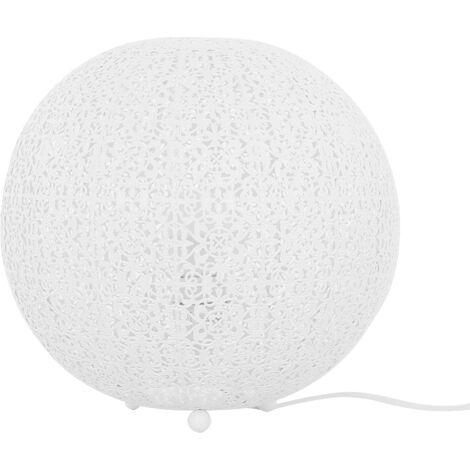 Round Table Lamp White FINKE