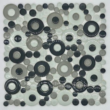 round tile and mosaic pebble for floor and wall mv-wespa