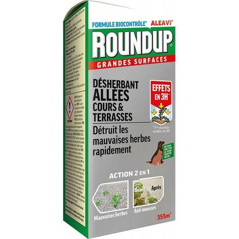 """main image of """"Roundup - Désherbant Allées Cours et Terrasses Concentré, 800ml"""""""