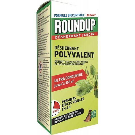 Roundup - Désherbant Polyvalent Action Rapide Concentré, 800ml