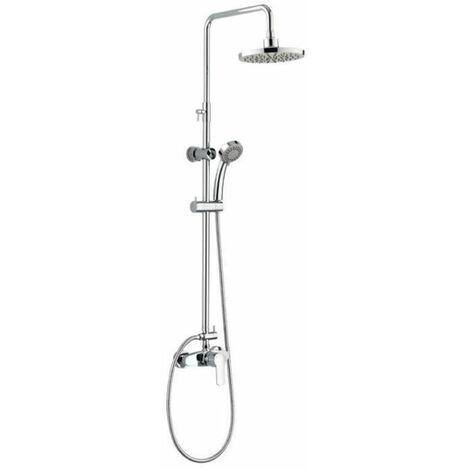 ROUSSEAU Colonne de douche avec robinet mitigeur mécanique Shenti chrome