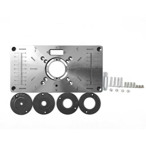 Router Table Insert Plate Wood Trimmer Models Engraving Machine