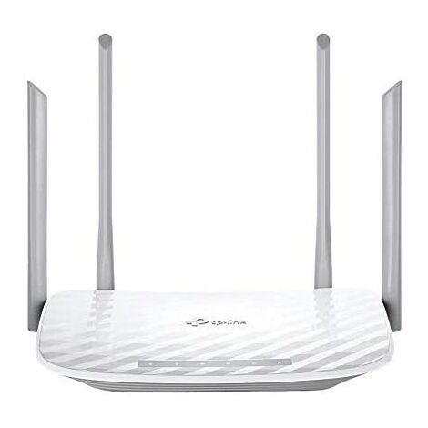 Router wifi dualband tp-link archer c5 ac1200 300mb en 2,4ghz y 867mb en 5ghz 4p giga 2xusb 2 antenas desmontables