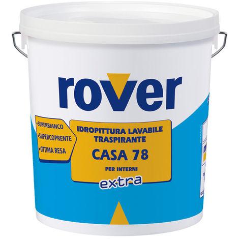 Colore Traspirante Per Interni.Rover Idropittura Traspirante Lavabile Colore Bianco Cucina Bagno 14