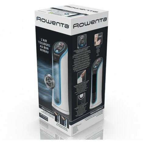 Rowenta ROWENTA VU6210F0 - Ventilateur vertical domestique - Noir - Bleu - 60 dB - Tactile - 8 h - LED (VU6210)