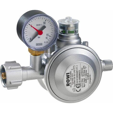 """main image of """"Rowi Gas-Druckregler für Innenräume HGD 1/2 D, mit doppelter Überdrucksicherung"""""""