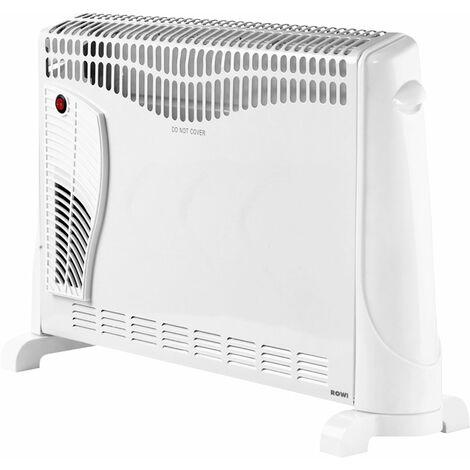 Rowi Wärmekonvektor HWK 2000/3/2 GZ Premium Gebläsefunktion und Zeitschaltuhr
