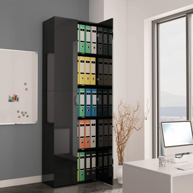 Image of Rowlett 2 Door Storage Cabinet by Black - Ebern Designs