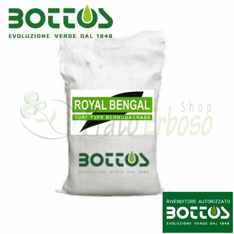 Royal Bengal wheatgrass - Semillas para césped de 5 Kg