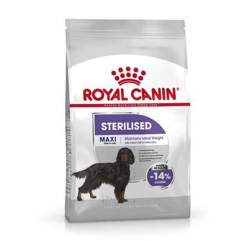 Royal Canin Care Nutrition Chien Maxi Sterilised, 9 kg