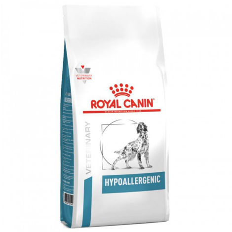 Croquettes Royal Canin Veterinary Diet Hypoallergenic pour chiens Sac 2 kg