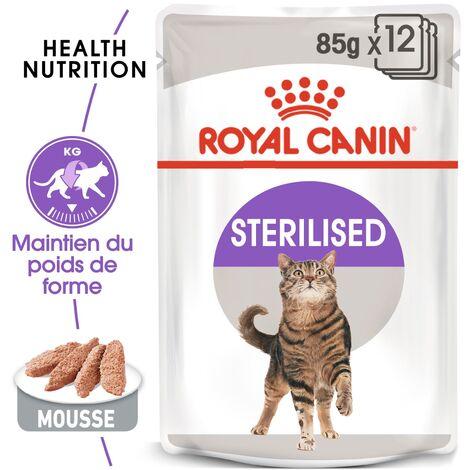 Royal Canin Feline Health Nutrition Chat Adulte Stérilisé – Sachets, 12 x 85 g