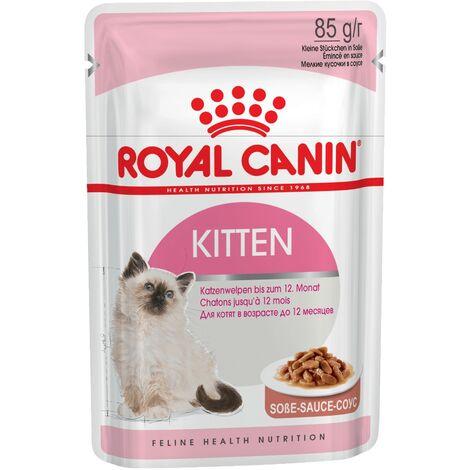 ROYAL CANIN KITTEN 85g (Salsa) para gatitos de 4 a 12 meses