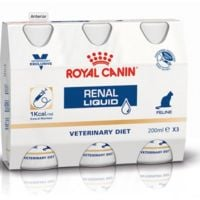 Royal canin liquid feline renal 3x200ml
