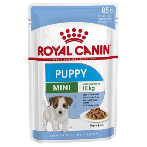 Royal Canin Puppy Mini - Carne en Salsa - 1 Sobre 85 gr