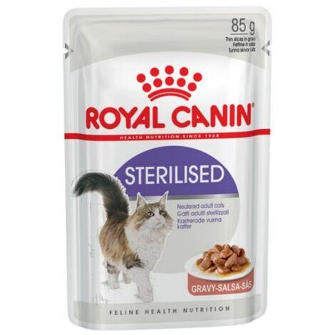 ROYAL CANIN STERILISED 85g (Salsa) para gatos adultos esterilizados