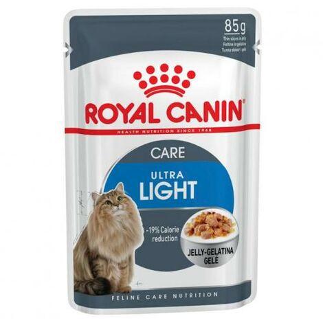 ROYAL CANIN ULTRA LIGHT 85g (Gelatina) para gatos adultos con tendencia al sobrepeso