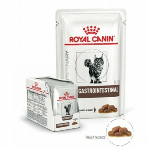 Royal Canin Veterinary Diet Gastro Intestinal pour chats 12 Sachets de 85 g
