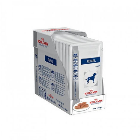 Royal Canin Veterinary Diet Renal pour chiens 10 sachets 150 g
