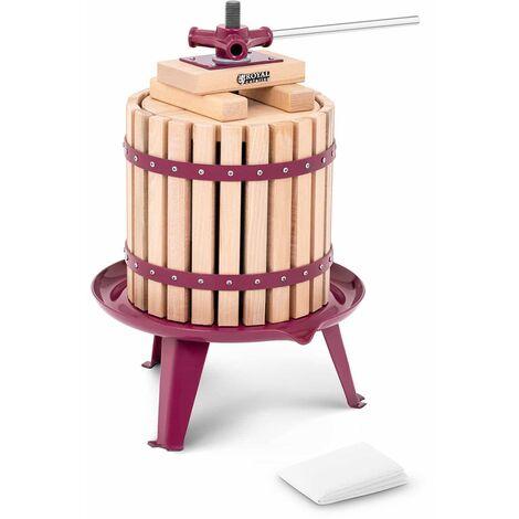 Royal Catering Pressoir de table Hydraulique Extracteur Inox Manuel 12L