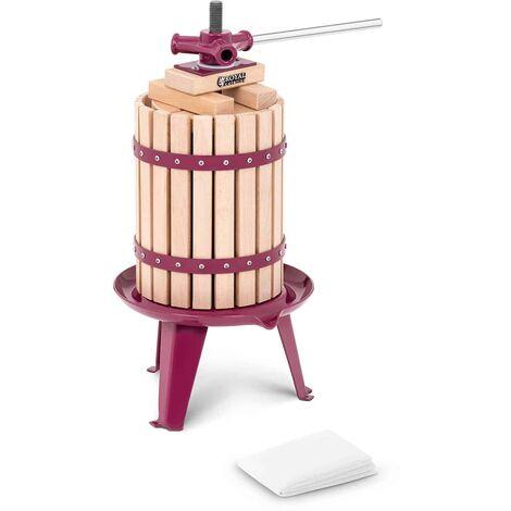 Royal Catering Pressoir de table Hydraulique Extracteur Inox Manuel 6L