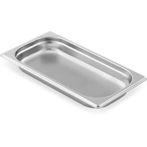 Royal Catering Recipiente GN Contenedor Gastronorm 1,4 L, Gastronorm: 1/3