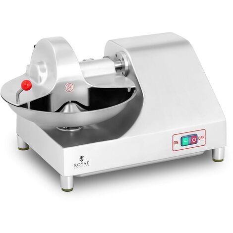 Royal Catering Trituradora De Alimentos Aparato Triturador Profesional RCMC-400W (Potencia: 400 W, Velocidad de cuchilla: 1.460 rpm, Volumen: 6 L)