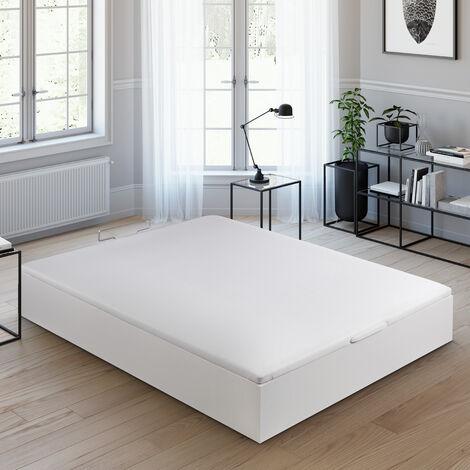 Royal Sleep - Canapé Abatible, montaje y retirada de usado incluida, fácil apertura y gran capacidad, Varios colores, Todas las medidas, Fabricados en España y bajo estrictas certificaciones de calidad ISO 9007