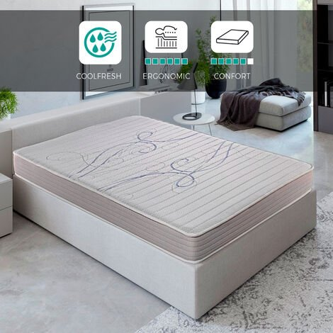 """main image of """"Royal Sleep - Xfresh - Colchón viscoelástico de máxima calidad, confort y firmeza alta, Altura 14cm, Todas las medidas, Fabricados en España y bajo estrictas certificaciones de calidad ISO 9001"""""""