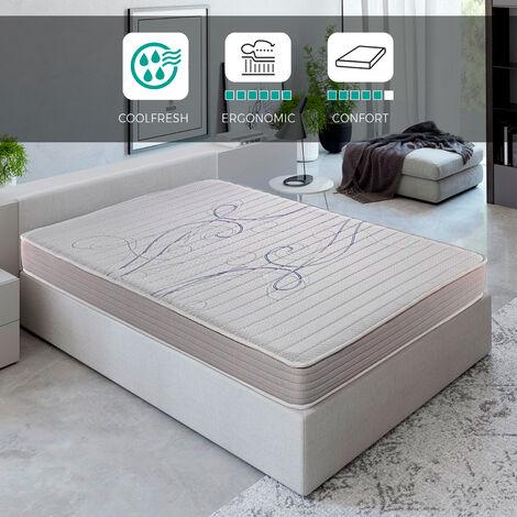 Royal Sleep - Xfresh - Colchón viscoelástico de máxima calidad, confort y firmeza alta, Altura 14cm. 90x190