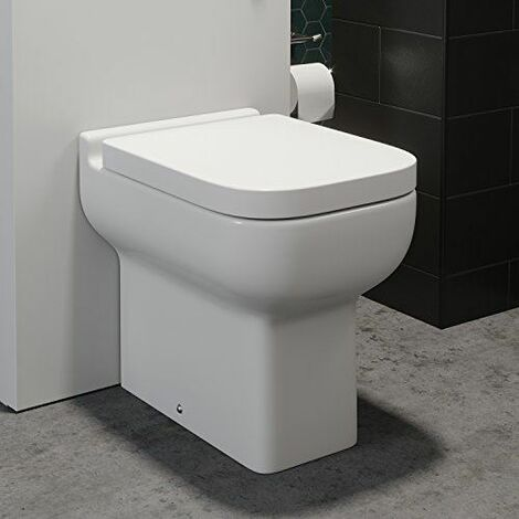 Royan Back To Wall Toilet & Soft Close Seat