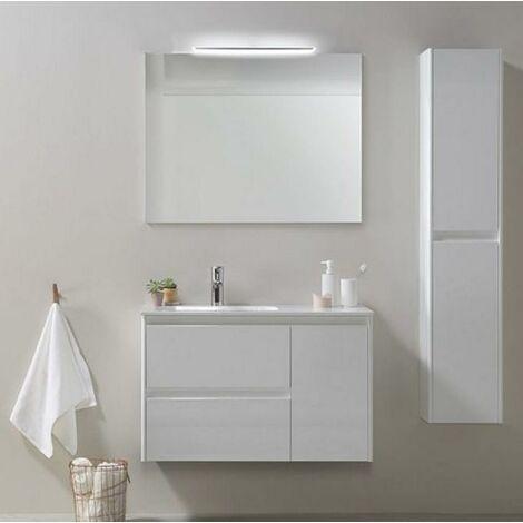 ROYO ALFA Conjunto Mueble 90 Blanco