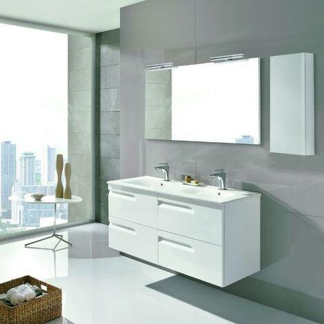 ROYO C0072602 VITALE 120 Conjunto Mueble Blanco Brillo