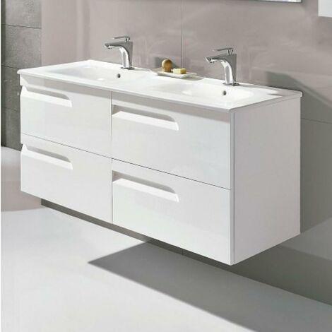 ROYO C0072610 VITALE 120 Mueble+Lavabo Blanco Brillo