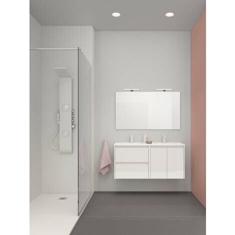 ROYO C0072685 SANSA Conjunto Mueble Completo 120 Blanco