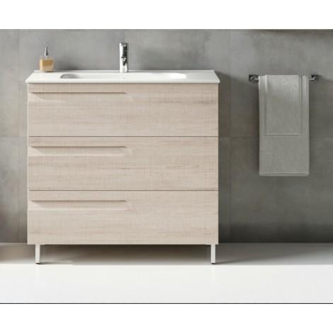 ROYO VITALE Mueble+Lavabo 3 Cajones F-46 cms Blanco Nature
