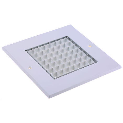 RS PRO Grille, 125 x 125mm Blanc