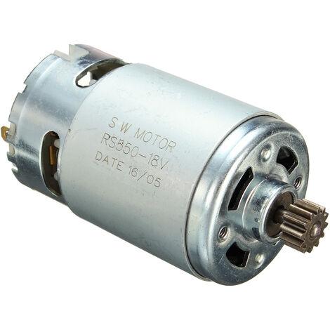 RS550 7.2V-18V 12T Gear Electric Load Drill Broca Motor Pr Bosch18V