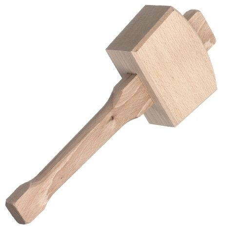 RST RC037 Wooden Mallet 6""