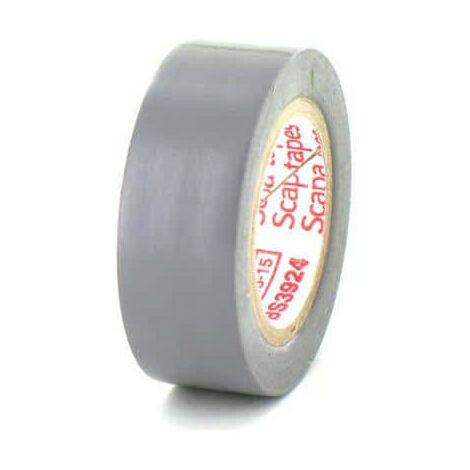 Ruban adhésif 19 mm PVC électrique Scapa 2702 gris - Gris