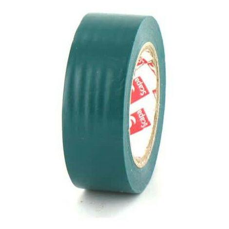Ruban adhésif 19 mm PVC électrique Scapa 2702 vert - Vert