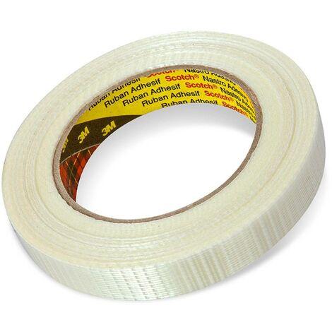 Ruban adhésif à filament 3M 8959 587748 transparent (L x l) 50 m x 19 mm 50 m