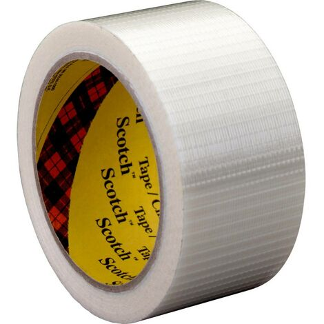 Ruban adhésif à filament 3M 89597550 Scotch® transparent (L x l) 50 m x 75 mm 1 pc(s)