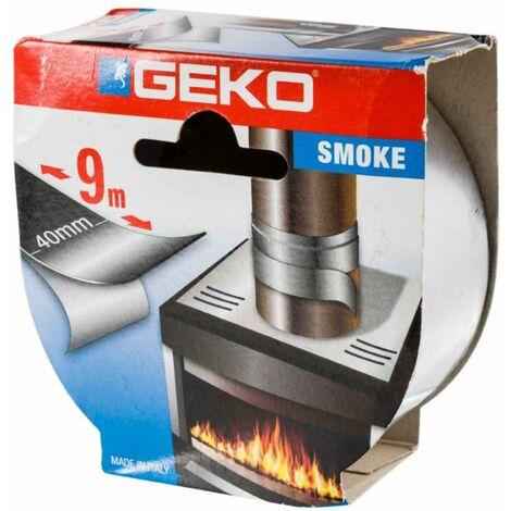 Ruban adhésif alu chromé haute température Geko