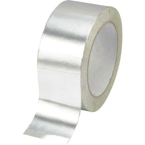 Ruban adhésif aluminium TRU COMPONENTS AFT-2510 1563980 argent (L x l) 10 m x 25 mm acrylique 1 pc(s) S820671