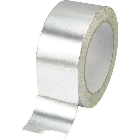 Ruban adhésif aluminium TRU COMPONENTS AFT-2550 1564137 argent (L x l) 50 m x 25 mm acrylique 1 pc(s)