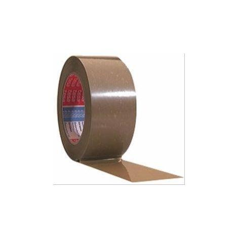 Ruban adhésif d'emballage 4120 Tesa havane largeur 50mm L=100m